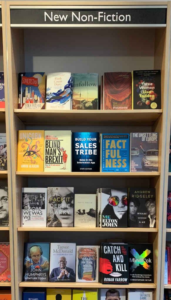 Build Your Sales Tribe on Book Shelf